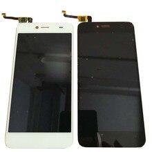 Mobilny wyświetlacz LCD z ekranem dotykowym do czujnika obiektywu azumi A55T wyświetlacz LCD Panel digitizera szkło przednie narzędzia 3m klej
