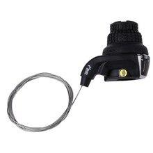 Apertos de bicicleta Torção Shifter Alavanca de Câmbio Engrenagem Mão Direita Para a Esquerda Para Shimano Y51D