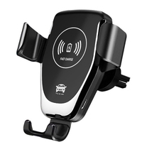 10W QI Car Wireless Fast Charger Automatic Clamping Wirless Charging Car Phone Holder For iPhone Samsung Xiaomi Huawei|Wireless Chargers| |  -