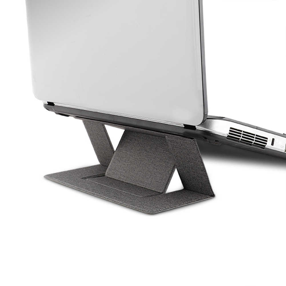 Regolabile Supporto laptop Adesivo Invisibile Espositori e Alzate per il Computer Portatile Pieghevole Portatile Staffa Tablet Holder per IPad MacBook Computer Portatili