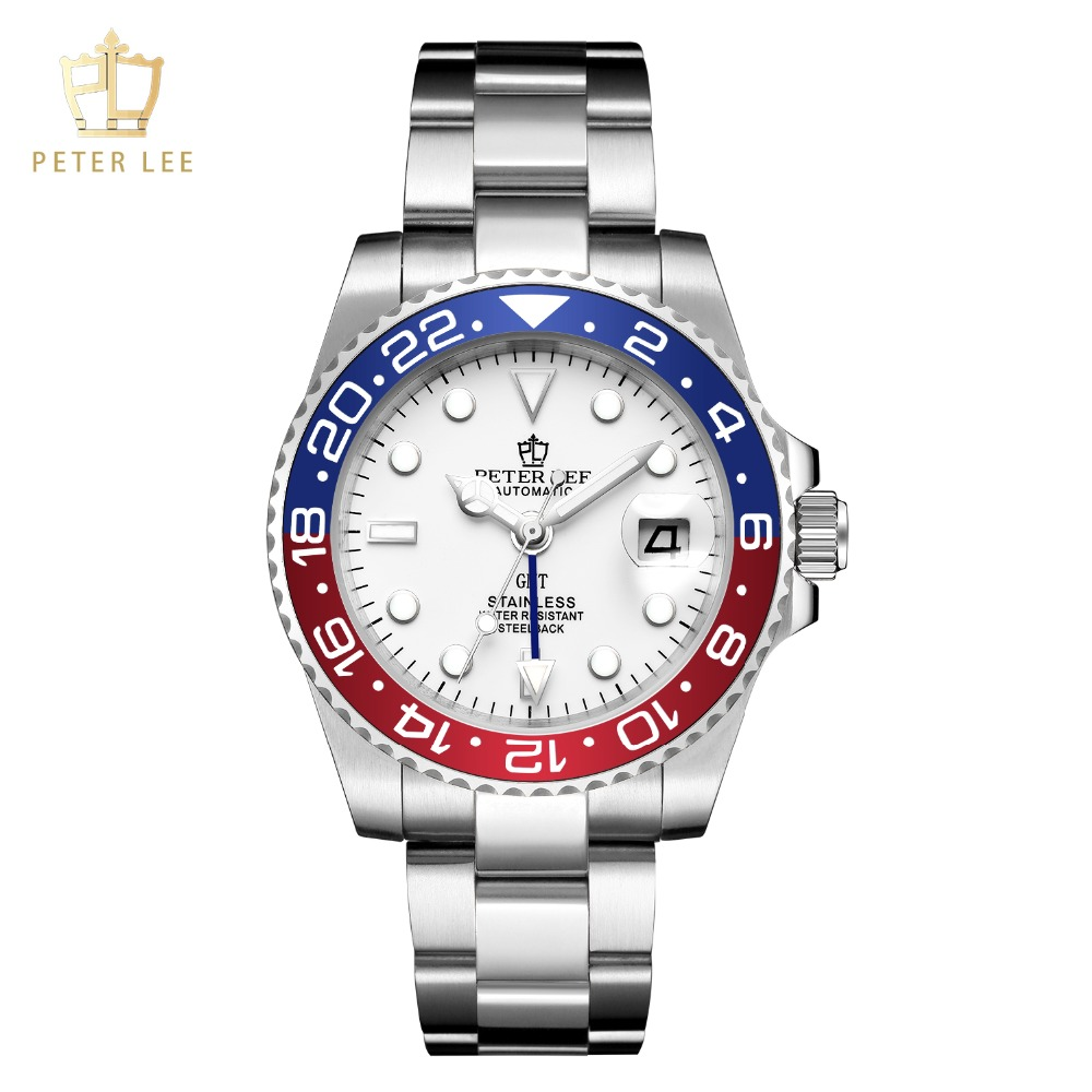 H3732f0d029324295b87339e9e0c2bf7bP Best Watches For Men   PETER LEE Automatic Watch   Classic Ceramic bezel luxury daydate 40mm mechanical men watches noctilucous stainless steel rose gold men automatic watch