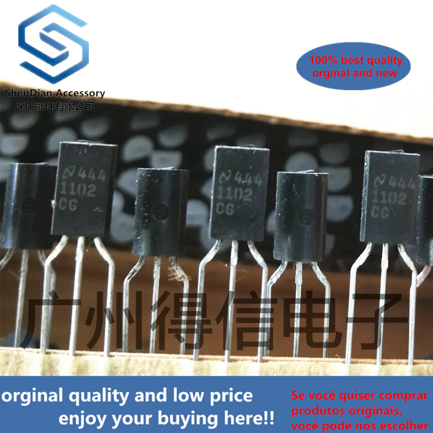 10pcs 100% New And Orginal 1102CG 1102  TO-92L  200 V - 1,000 V Single Phase Bridge 1.4 A - 1.5 A Forward Current 70 Ns In Stock