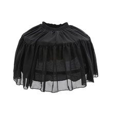 Bust Skirt Tutu Skirt Petticoat Adjustable Layered Puff Skirt Crinoline for Wearing Under Vintage Dress for Girls(China)