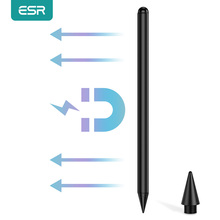 ESR for iPad Pencil Stylus Pen Magnetic Stylus Pencil for iPad Air 4/iPad 8th/iPad Pro 2020 Responsive Digital Stylus Pen Tablet