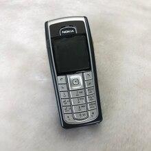 6230i телефон NOKIA 6230i 2G GSM разблокированный Арабский Английский Русский Клавиатура и подарок и один год гарантии
