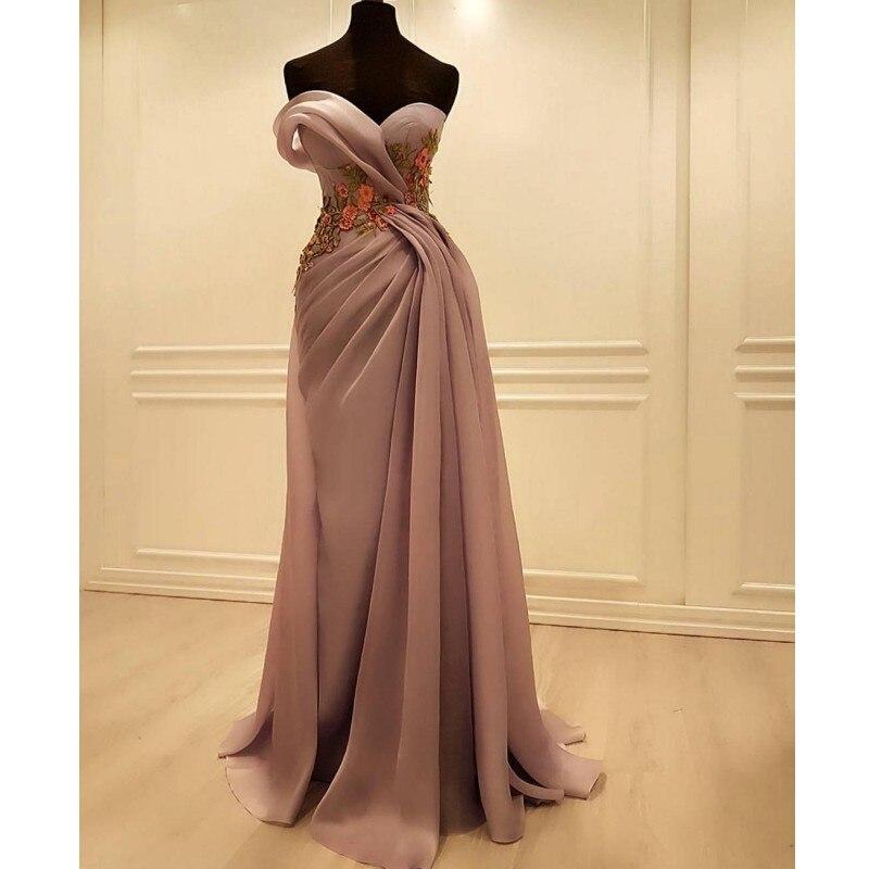 Mermaid Prom Dresses 2020 Long Evening Dresses Dubai Plus Size Party Gala Dress