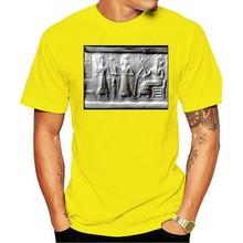 Camiseta de algodão da moda da cor & do tamanho annunaki 12th planettamanho grande