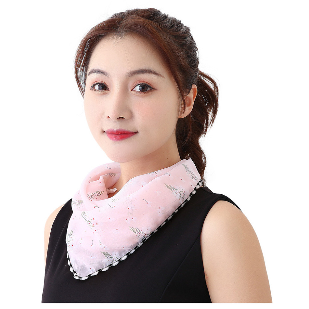 Women's Protective Washable Cotton Scarf Mask 21