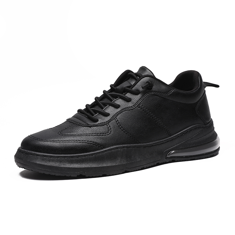 New 2020 Spring Summer Superfine Fiber Shoes Men Sneakers Low Top Black Shoes Men's Casual Shoes Male Brand Fashion Shoes *8602