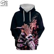 PLstar Cosmos Michael Jackson/Macaulay Culkin 3D Printed Hoodie/Sweatshirt/Jacket/shirts Mens Womens hip hop Spacewalk style-4
