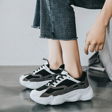 Women Shoes New Chunky Sneakers Vulcanized Casual Fashion Dad Platform Basket Femme 21818AHT3036
