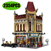 15006 30006 Ideas Series The Palace Cinema Model Building Blocks Set Compatible lepining 10232 Classic House Architecture Toys