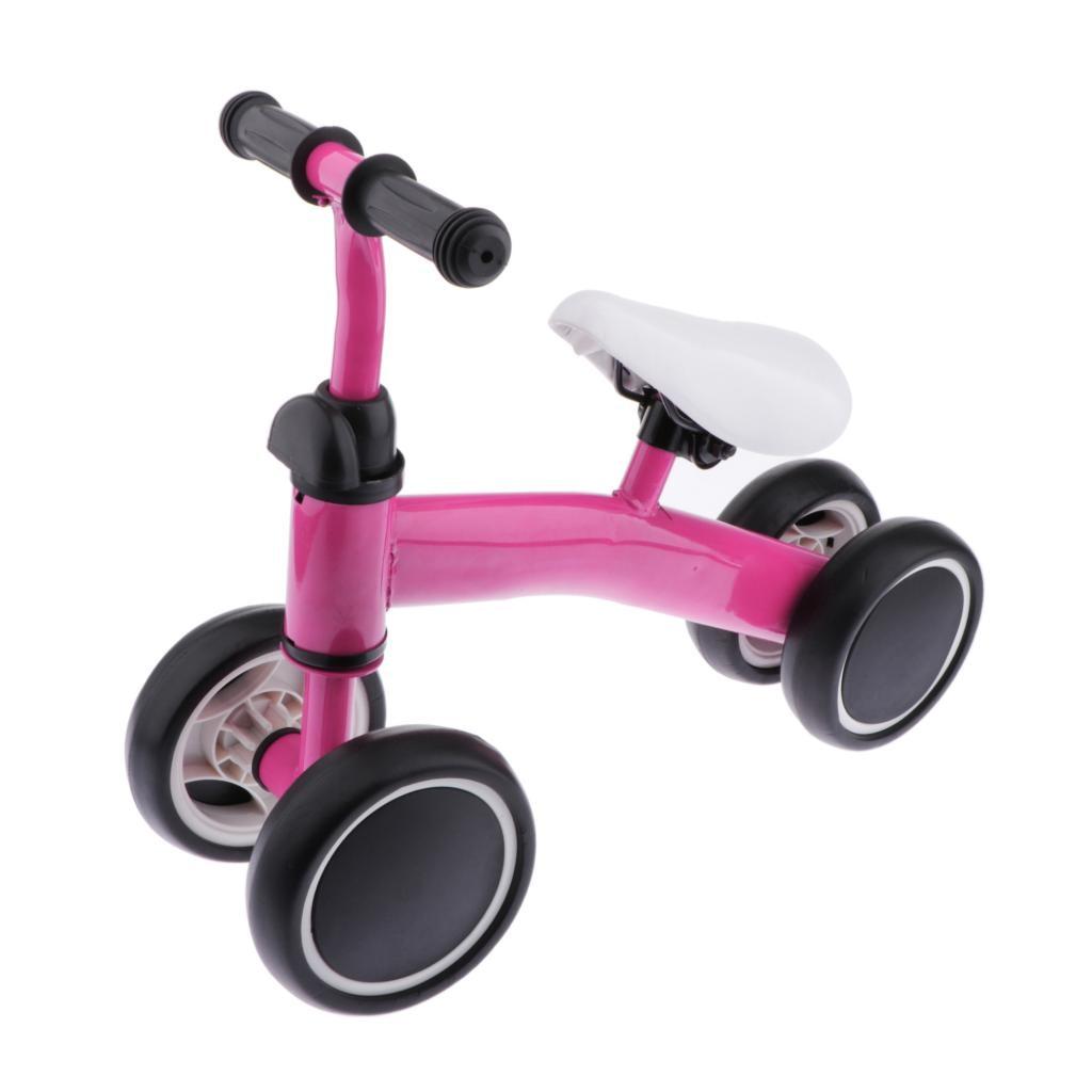 Baby Bike Kids Learn To Walk Toddler Walker Boy Girl 4 Wheels Push Bicycle Bikes Toys for 1-3 Yrars Old Children