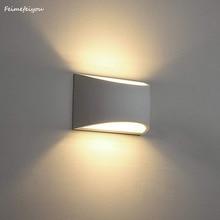 קיר פמוטים אור גופי מנורות מודרני LED תאורת 7W למעלה ולמטה מקורה טיח לסלון חדר שינה מסדרון
