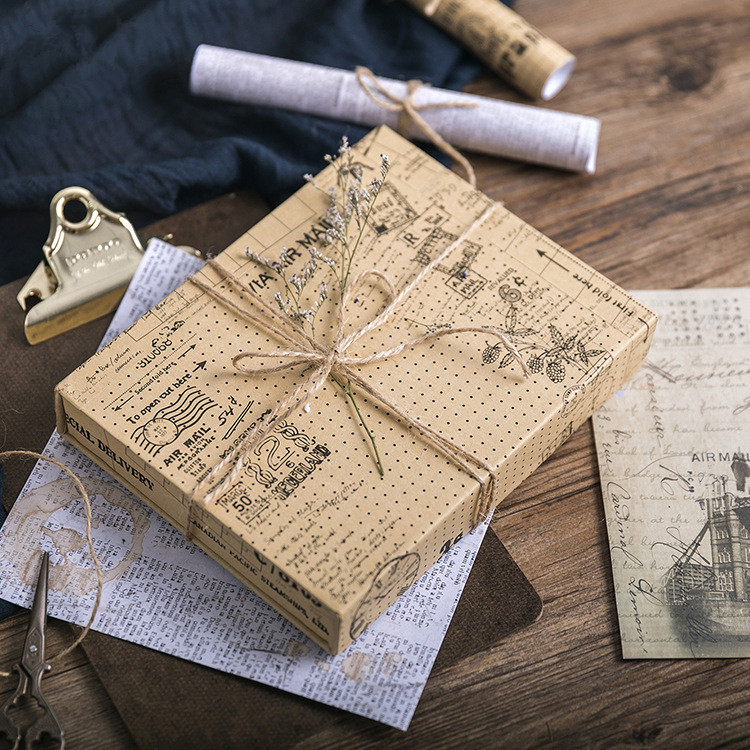 Creative Vintage Diary Stickers Decorative Stationery Stickers Retro Christmas Scrapbooking DIY Diary Sticker Paper