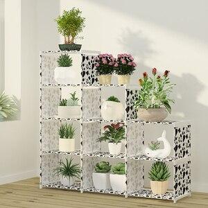 Image 5 - DIY montaż półka na książki włóknina regał magazynowy wymienny stojak na książki uchwyt organizer do suszenia prania półka ekspozycyjna do domu
