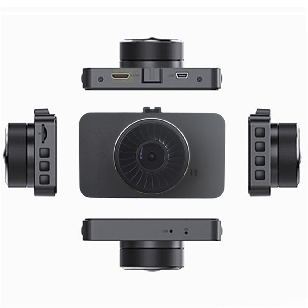 XIAOMI 3 дюймовый Full HD 1080P вождение автомобиля Регистраторы Dashcam Автомобильный видеорегистратор вождения Регистраторы 170 градусов Широкий формат с двумя объективами Автомобильный видеорегистратор