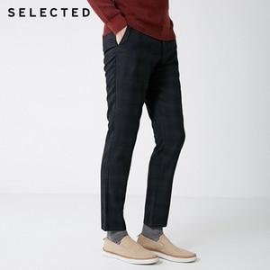 Image 1 - SELEZIONATO Inverno Slim Fit Plaid Pantaloni S