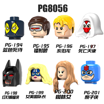 PG8056 Movie Series Figures Building Blocks Toys For Kids Gwen Stacy Action Figures Head Collect Educational Toys Bricks Gifts image