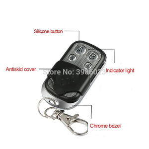 Image 3 - 433MHz Universal Wireless Remote Control Switch DC 12V 4CH Relay Receiver Module RF 4 Button Remote Control Garage door Opener
