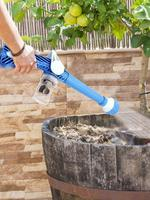 8 em 1 Spray De Limpeza Do Carro Multifuncional Casa Jardim Pulverizador Pulverizador de Plástico Fácil de Usar Ez Jet Canhão de Água Turbo ferramentas