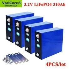VariCore – lot de 4 batteries lifepo4, 3.2V, 310Ah, pour voiture électrique, camping-car, système de stockage d'énergie solaire