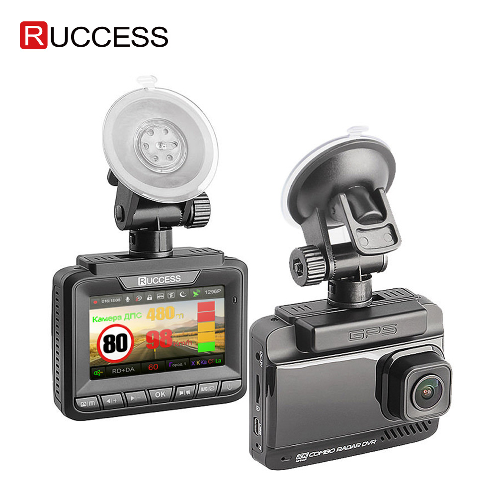 Ruccess <font><b>Radar</b></font> <font><b>Detectors</b></font> <font><b>3</b></font> <font><b>in</b></font> <font><b>1</b></font> <font><b>Radar</b></font> <font><b>Detector</b></font> Full Hd 1080p <font><b>Car</b></font> <font><b>Dvr</b></font> Dual Lens <font><b>Car</b></font> Camera <font><b>GPS</b></font> Video Recorder Registrar Dashcam image