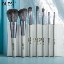 DUESI 7Pcs/Set Makeup Brushes Set 2020 Beauty Eyeshadow Eyebrow Blush Powder Foundation Cosmetics Face Make Up Brush Tools Kit