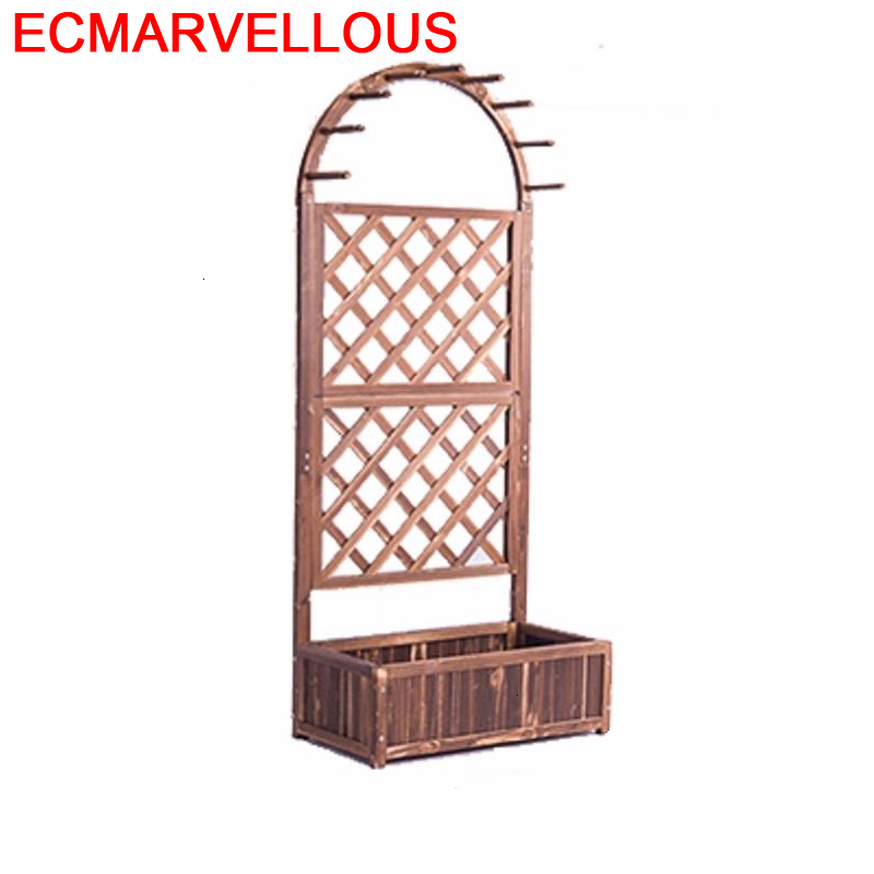 Room Garden Wooden Shelves For Soporte Interior Estante Para Plantas Rack Balcony Shelf Dekoration Outdoor Flower Plant Stand