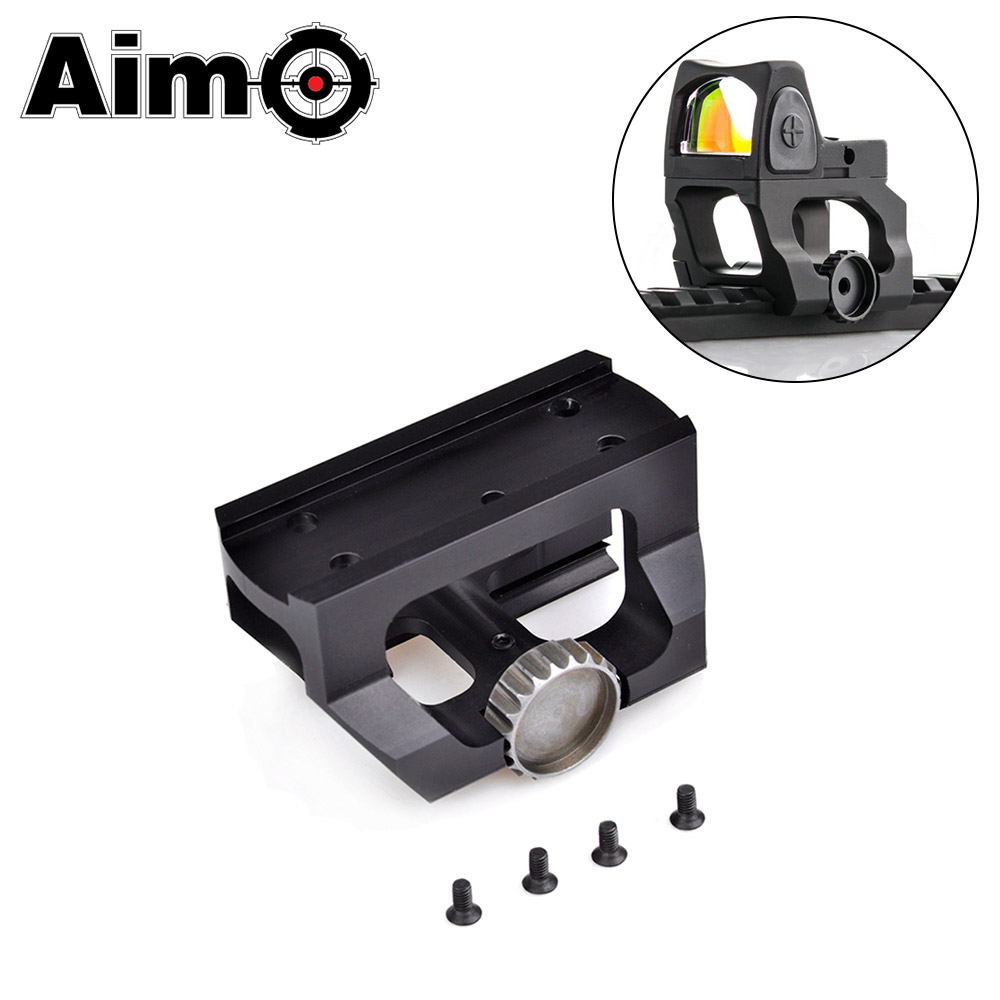 Aim-O Low Drag Scope Mount for Red Dot Sights T1&T2 Hunting Rifle Sight T1 T2 Mount Fit For 20mm Picatinny Rails AO1701 image