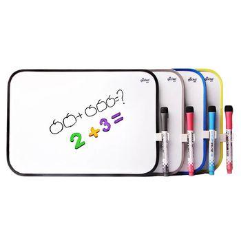 Sharkbang 28cm 35cm magnetyczne dzieci DIY pisanie tablica rysunek uwaga biała tablica z długopisami akcesoria szkolne artykuły papiernicze