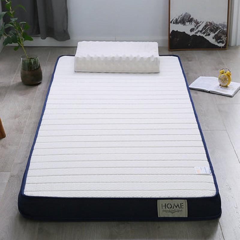 Latex And Memory Foam  High-density Mattress Bed Foldable Washable Floor Sleeping Mat Single Twin Sofa Tatami