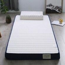 Colchón de látex y espuma de memoria de alta densidad cama plegable lavable para dormir alfombra individual sofá doble tatami