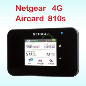 unlocked netgear ac810 4g router wi-fi 4g wifi dongle lte Wireless Aircard 810S LTE wifi router netgear aircard 810s sim card(China)