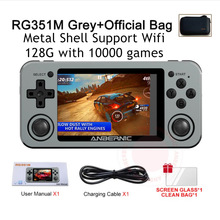 Game-Player Pocket PS1 N64 Video-Wifi Handheld Retro Anbernic Rg351m Kids 128G DC Wireless