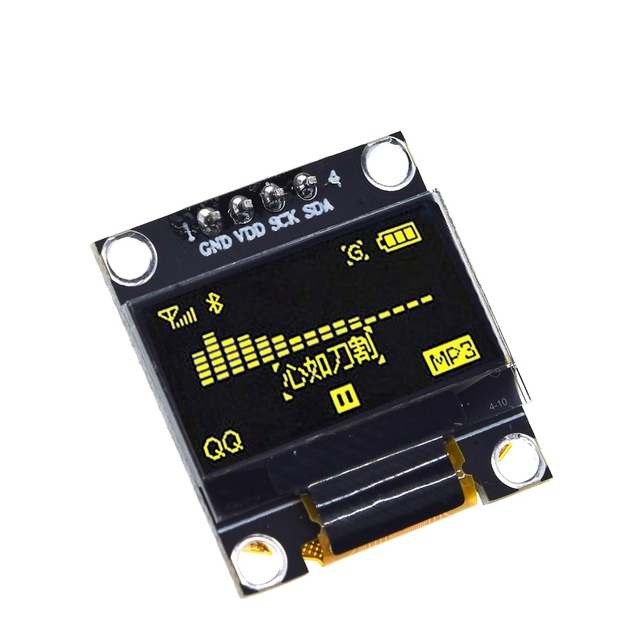 0.96 inch oled IIC Serial White OLED Display Module 128X64 I2C SSD1306 12864 LCD Screen Board GND VDD SCK SDA for Arduino 5