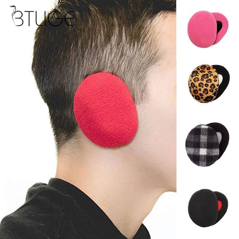 1 Pair Winter Ear Warmer Ear Muffs Adult Women Man Comfort Warm Colorful Earmuffs
