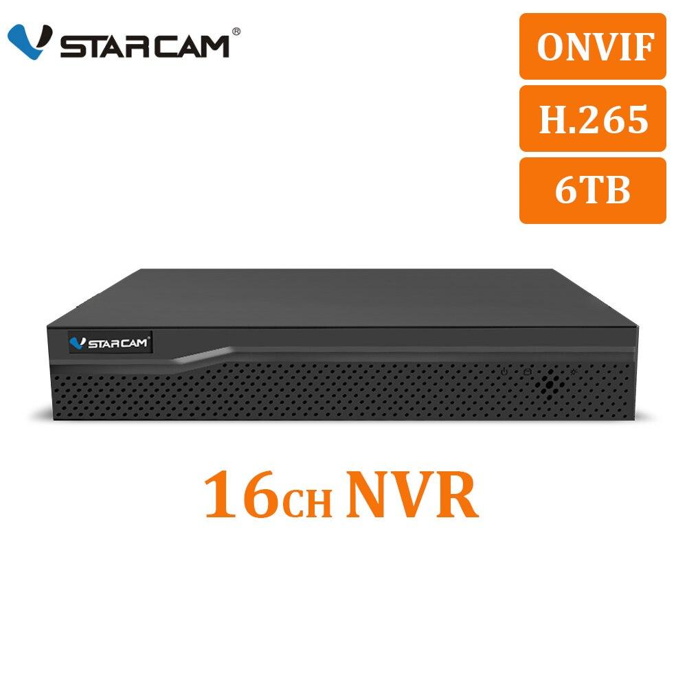Камера видеонаблюдения VStarcam HD, 16 каналов, NVR, HDMI, VGA, аудио-выход, 16 каналов, H.265, ip, N8216