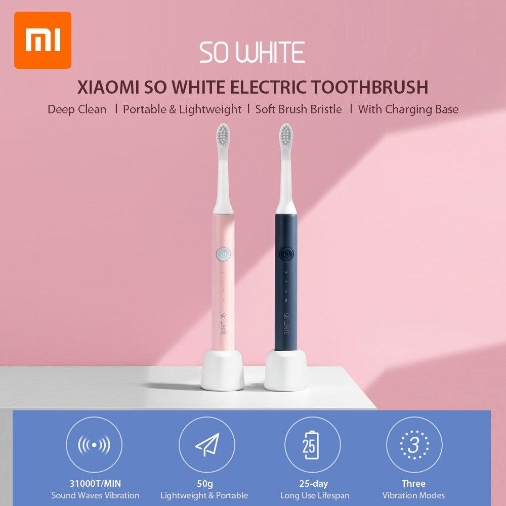 Xiaomi SO WHITE PINJING EX3 Sonic Toothbrush Head For Xiaomi Mijia Ultrasonic Automatic Toothbrush Head Waterproof