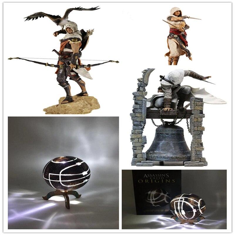 30 centímetros Assassins Creed Altair Originis Bayek Aya O Lendário PVC Action Figure Collectible Modelo Brinquedos Presentes