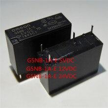 5PCS 5V 12V 24V Relés De Potência G5NB-1A-E- 5VDC 12VDC 24VDC 5A 250VAC 4PIN