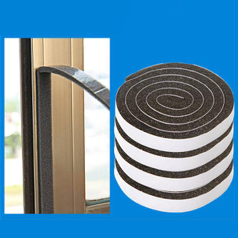 Self Adhesive Windows Seal Strip Crack Wind Blocker Soundproof Weatherstrips Door Window Noise Insulation Dust Sealing Tape