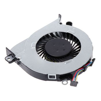 ORG ORG Cooling Fan Laptop CPU Cooler Computer Replacement 4 Pins Wires Connector 812109-001 for HP Pavilion 15Z-A 15-AB 17-G