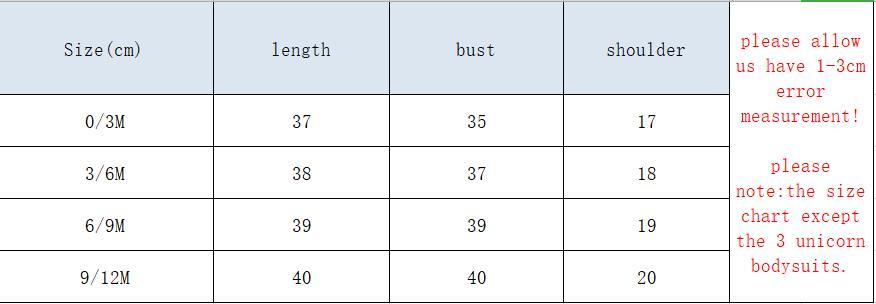 bodysuits size