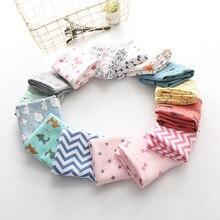 Осенне-зимний шарф из хлопка для девочек, детский шарф, нагрудник, шарф с кольцом для мальчиков и девочек, милый детский шарф с воротником