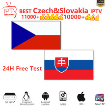 Czech Slovakia IPTV Subscription Smarters Pro IPTV M3U list MAG Germany Poland UK Spain Arabic Belgium USA Android Smart TV Box недорого