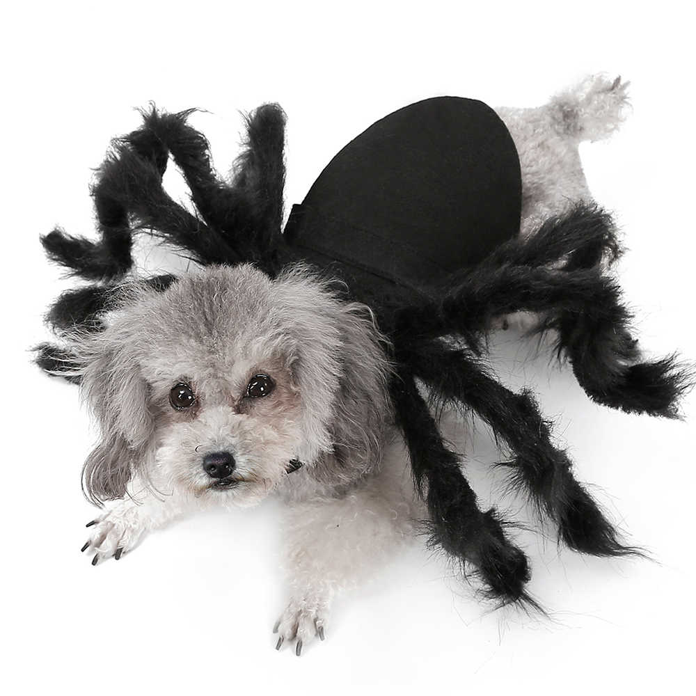 Pet Dogs Clothes Halloween Spider Cosplay Pet Costume for Cat Dog Spider Bat Role Play Dressing Up Clothes For Party Christmas