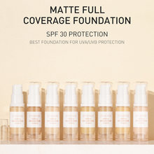 1 sztuk 5ml twarzy podkład w płynie makijaż kontrola oleju pełne pokrycie nawilżający korektor wodoodporny makijaż twarzy kosmetyczne TSLM1