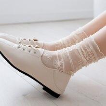 Mulheres plissado fishnet tornozelo meias transparentes senhora verão sexy polka dot malha rendas peixe net meias curtas