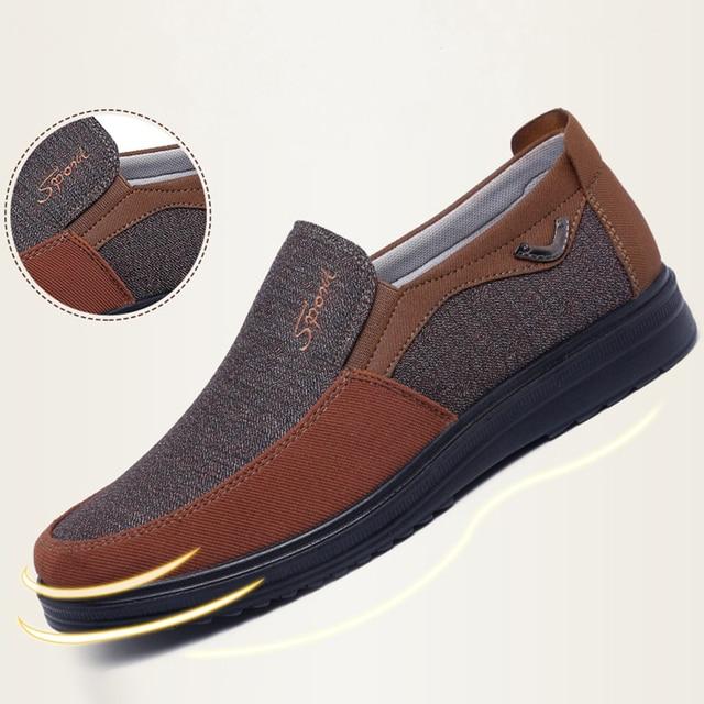 Парусиновые мужские туфли 3